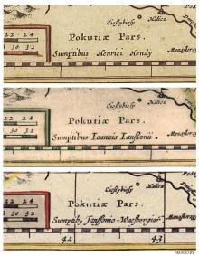Карта ВКЛ гісторыя картаграфія