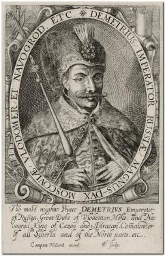 DEMETRIUS / IMPERATOR RUSSIAE... 1616 год