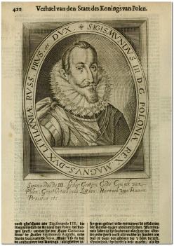 Жыгімонт ІІІ Ваза, 1621 год