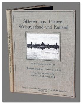 Skizzen aus Litauen Weissrussland and Kurland, Hermann Struck