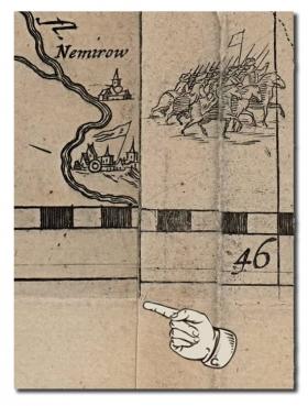 Радзивиловская карта Маковский гравюра