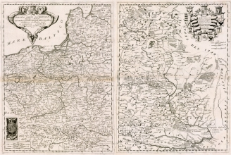 Старая карта ВКЛ картуш