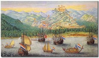 Галандскія караблі Ост-Індскай кампаніі