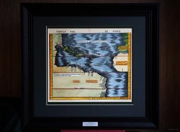 TABULA TERRE NOVE. Admiral's map