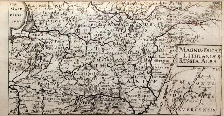 Jacob von Sandrart, MAGNUS DUCATE: LITHUANIAE & RUSSIA ALBA, 1687