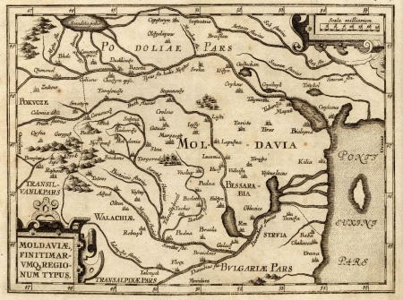 moldavia map