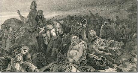Напалеон на Бярэзіне, 1812