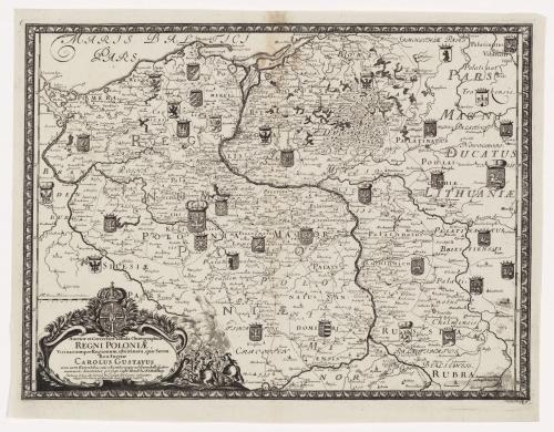 REGNI POLONIAE, 1696 Pufendorf