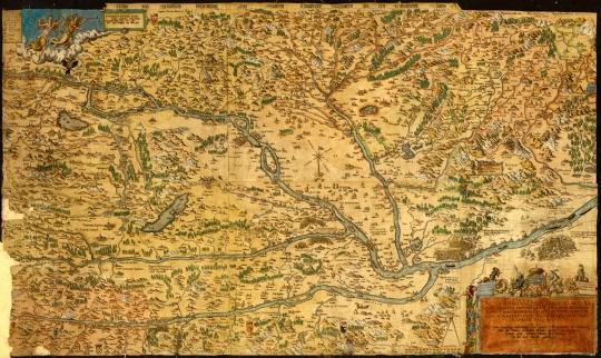 NOVA TOTIUS UNGARIAE DESCRIPTIO 1567