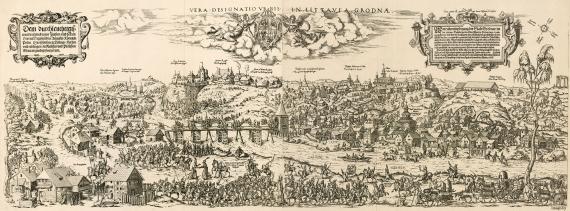 Vera Designatio Urbis in Littavia Grodnæ