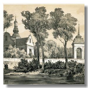 HORODYSZCZE G.Mińska, литография Орда