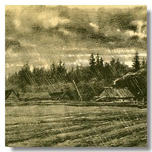 хутор в Беловежской пуще