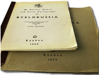 The ancient names and early cartography of Byelorussia