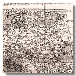 древняя карта беларуси