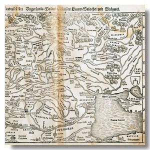 Белая Русь на картах