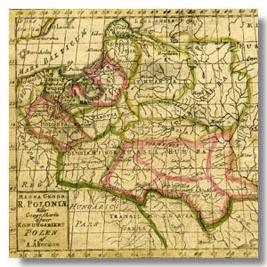 Беларусь на старинных картах