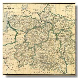 карта литвы и белой руси