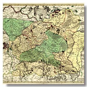 карты старинные Беларусь