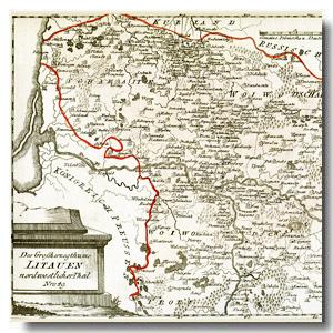 старые карты беларуси