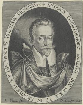 Радзівіл Сіротка карта радзівілаўка 1613