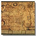 карта ВКЛ 1613