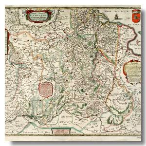 старинная карта ВКЛ скачать