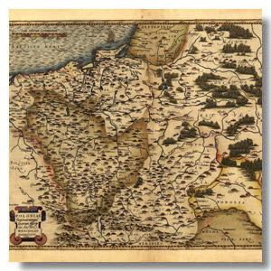 карта Ортелиус