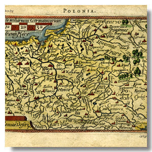 стринная карта Польша