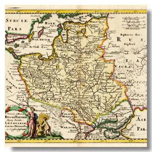 Rzeczpospolita mapa