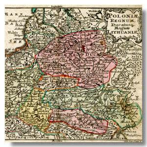 карта княжества литовского