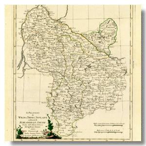 старинная карта балтика