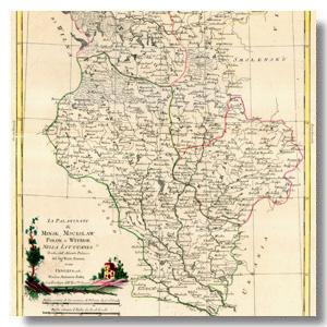 старинная карта минск