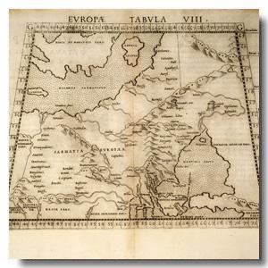 старинные карты скачать сарматия
