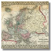 старая карта европы скачать
