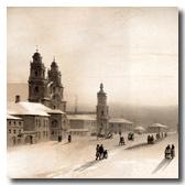 Минск верхний город литография