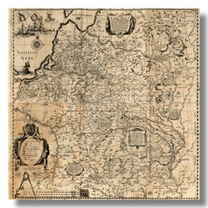 старая карта ВКЛ