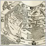 старинная карта мира скачать