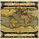 карты Ортелиуса